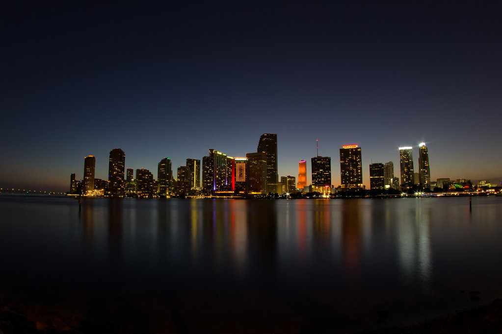 Skyline of Miami