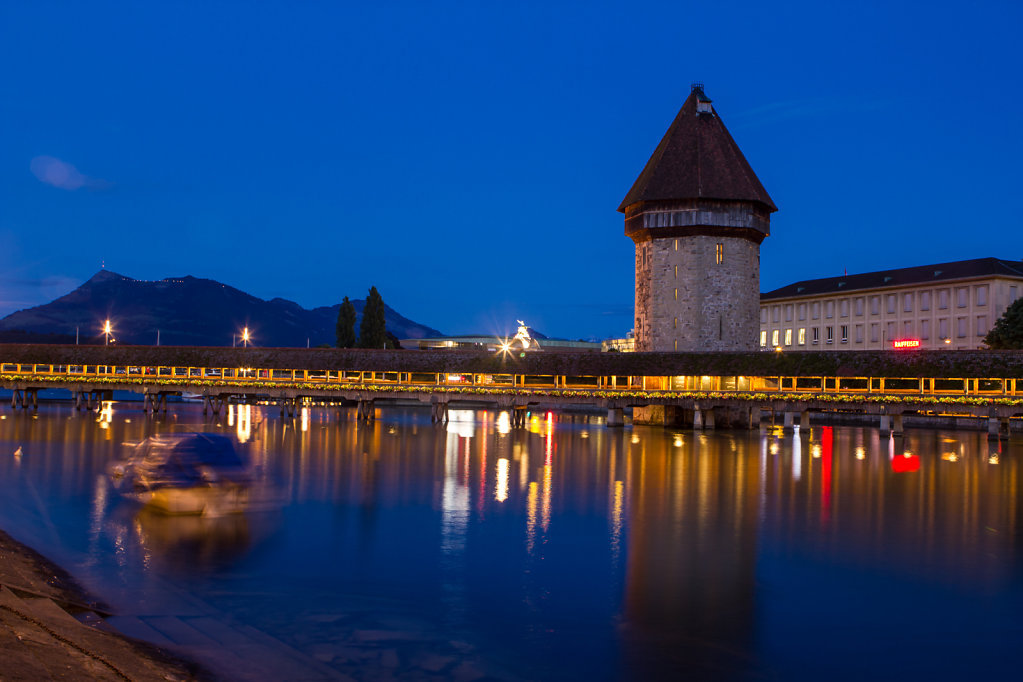 Blue Hour in Lucerne