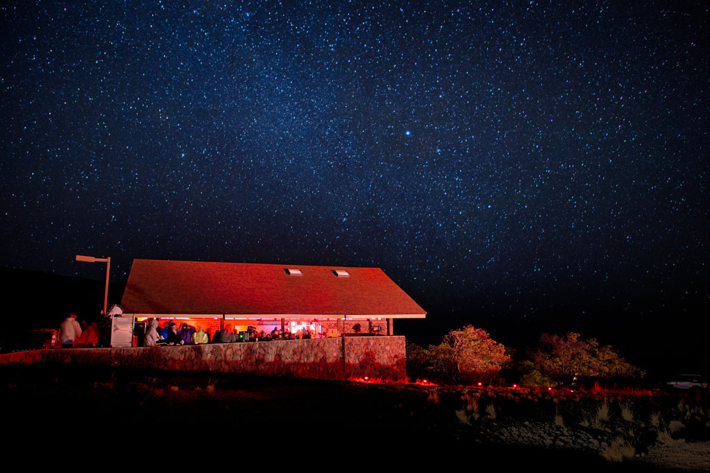 Star Chasing at Mauna Kea